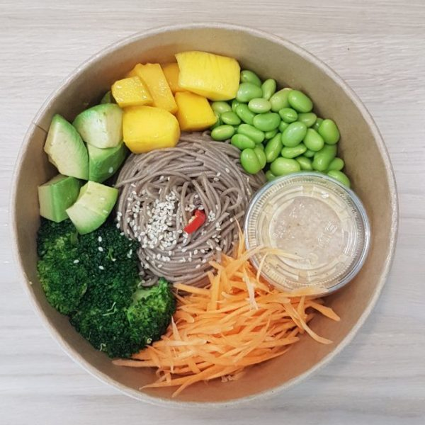 Asian Soba Noodle Bowl