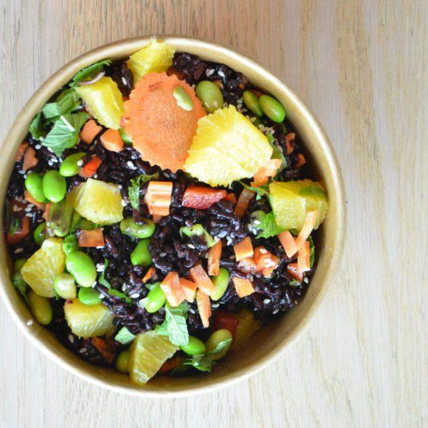 Epic Black Rice Salat
