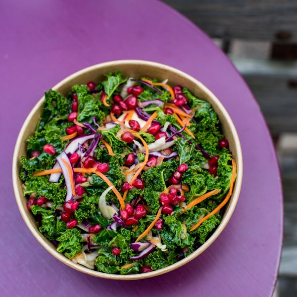 Crunchy Kale Quinoa Bowl