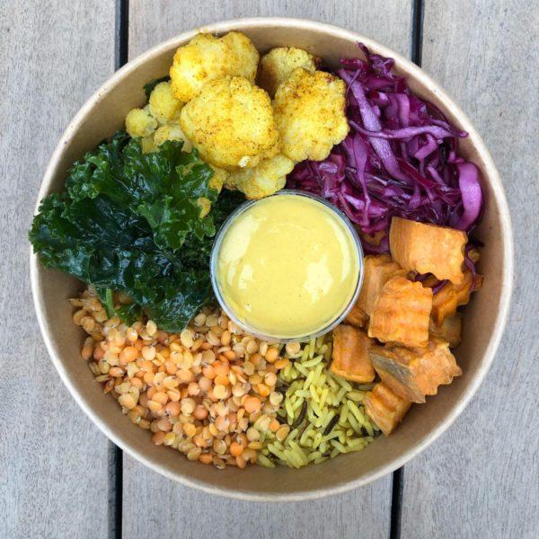 Indian Lentil and Rice Bowl (Vegan)