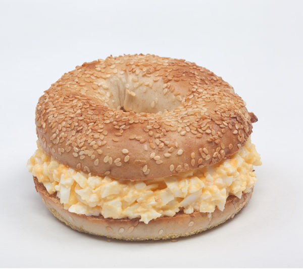 Bio-Freerange Egg Salad Bagel