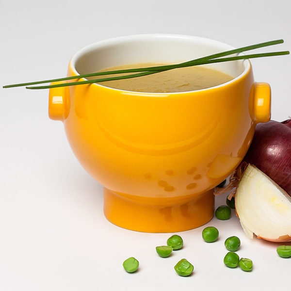 Indische Erbsen-Karottensuppe