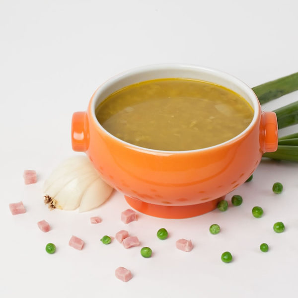 Erbsen-Minze Suppe