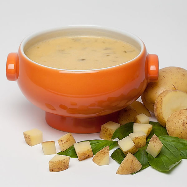 Pikante Kartoffel-Käse Suppe