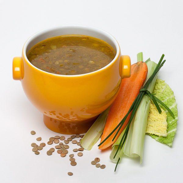Linsen Grünes Curry