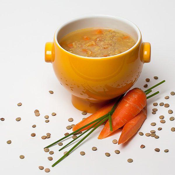 Gemüse-Linsen Curry