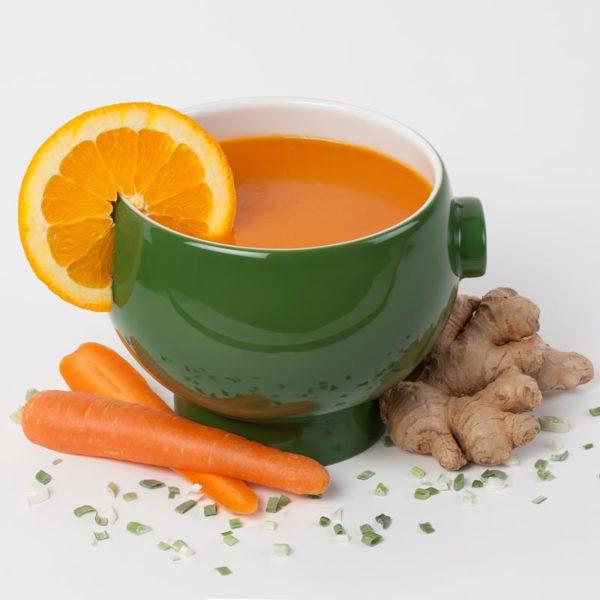 Rüebli-Orangen-Ingwer Suppe