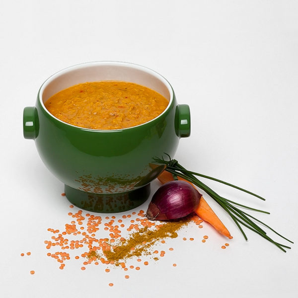 Linsen-Orangen Suppe