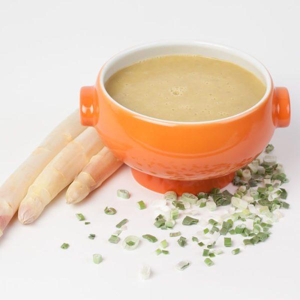Spargel-Kartoffelsuppe